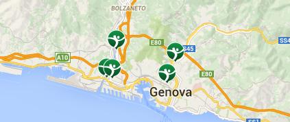 Scopri tutte le palestre a Genova Palagym