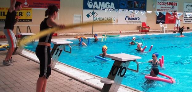 acquagym piscina genova