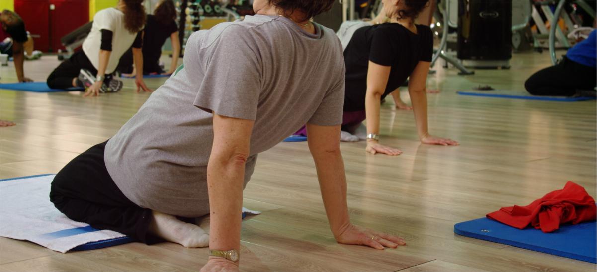 stretching ginnastica dolce palestra genova