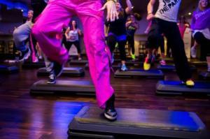 step coreografico - ginnastica musica e coreografie centri palagym genova rivarolo