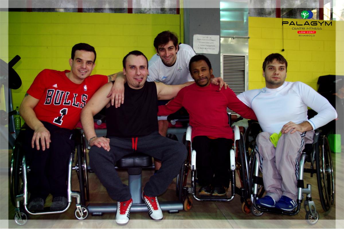 allenamento disabilità motorie