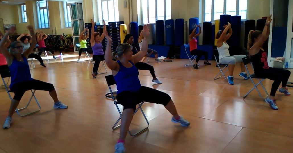 Circuit Chair palestra genova ginnastica con sedia