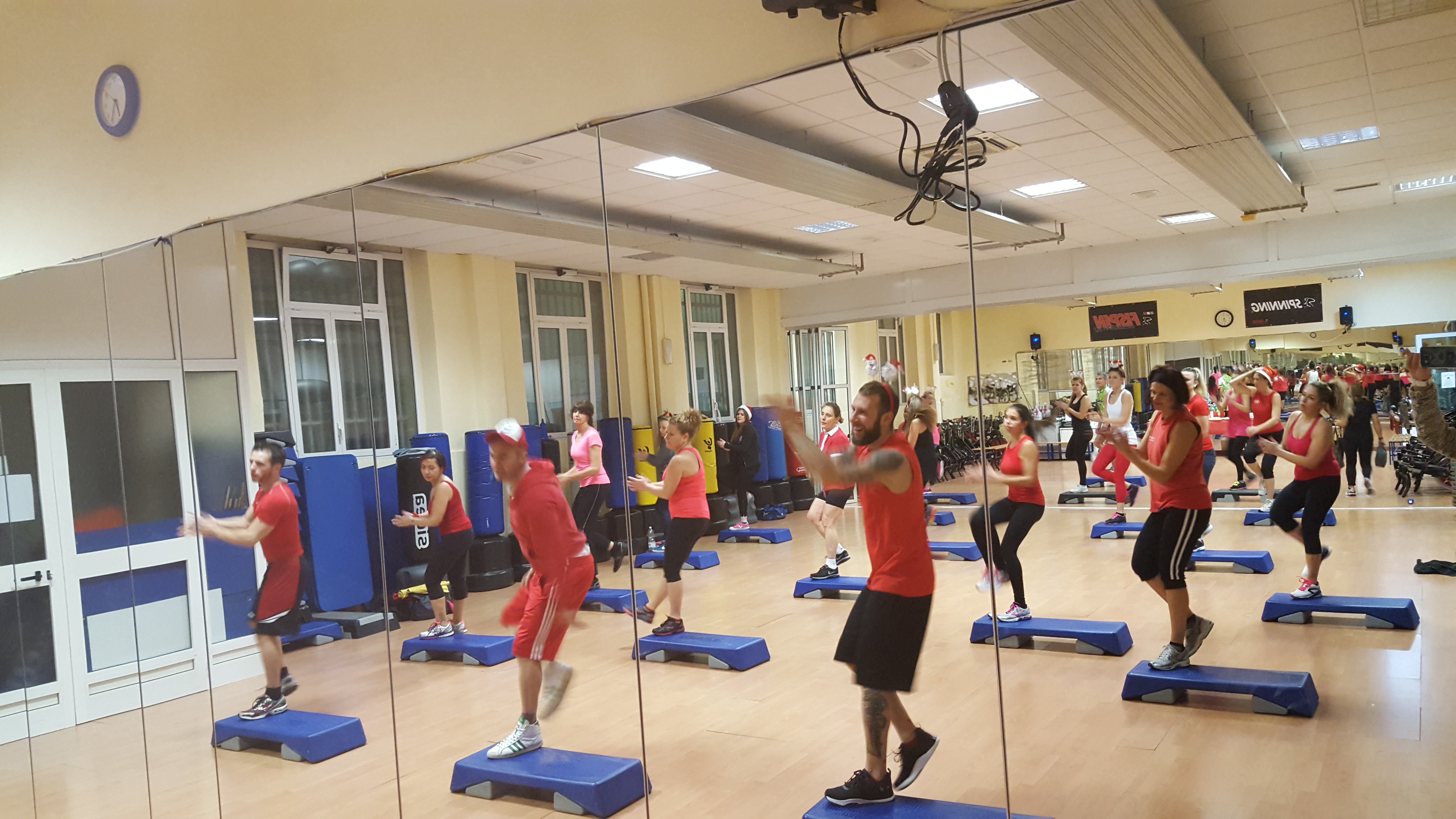 fitness step palestra genova