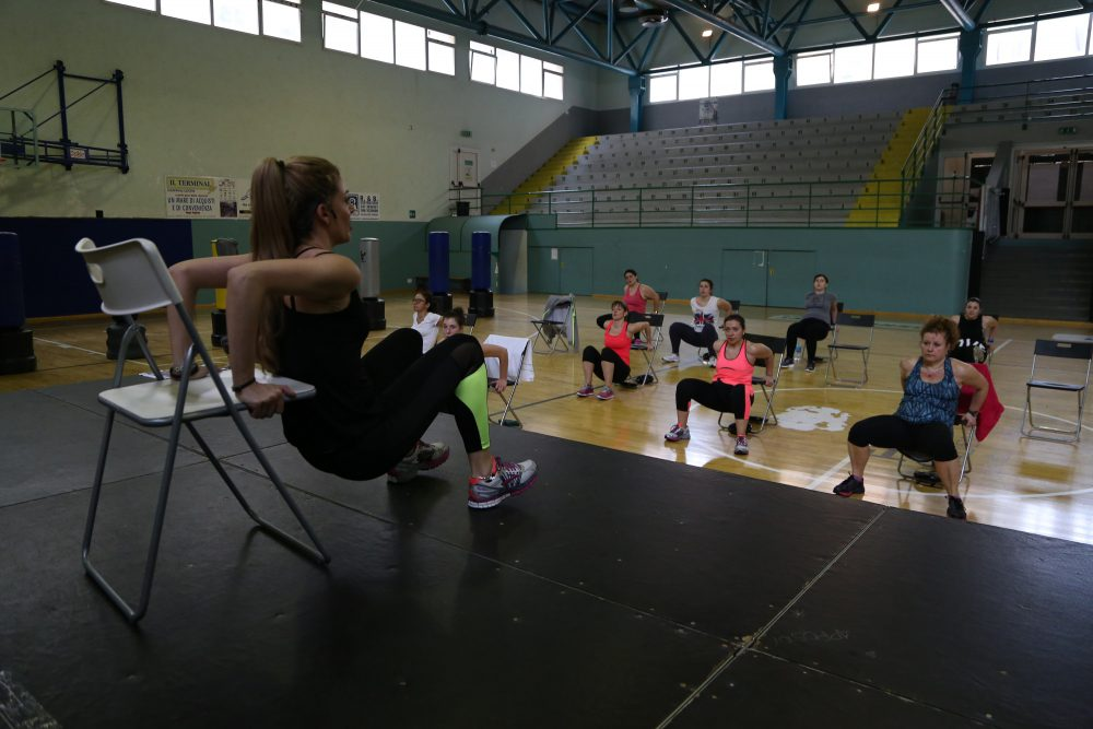fitwave circuit chair palagym palestra genova