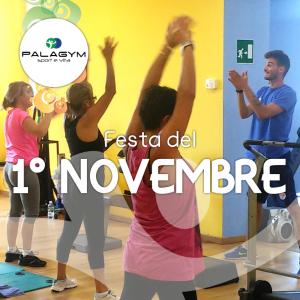 festa 1 novembre palestra palagym genova