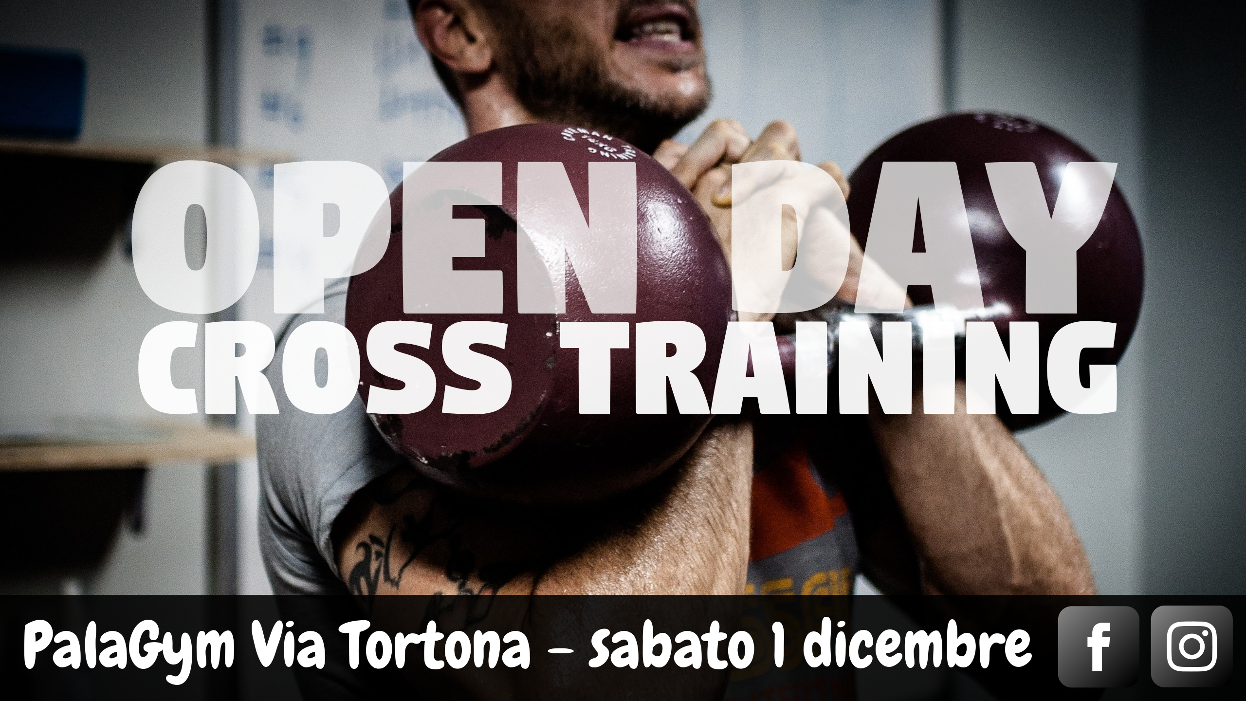 cross training open day palagym via tortona