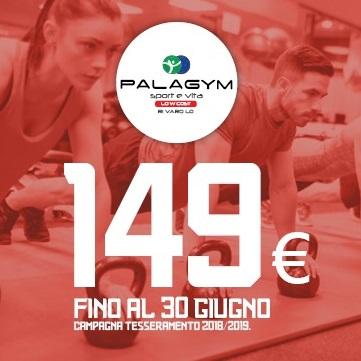 promozione rivarolo offerta gennaio 149 euro fitness palestra 2019
