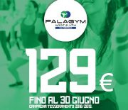 promozione via tortona offerta palagym gennaio 129 euro fitness palestra genova