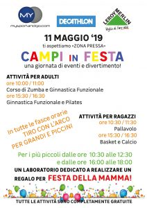 festa campi my sport and go