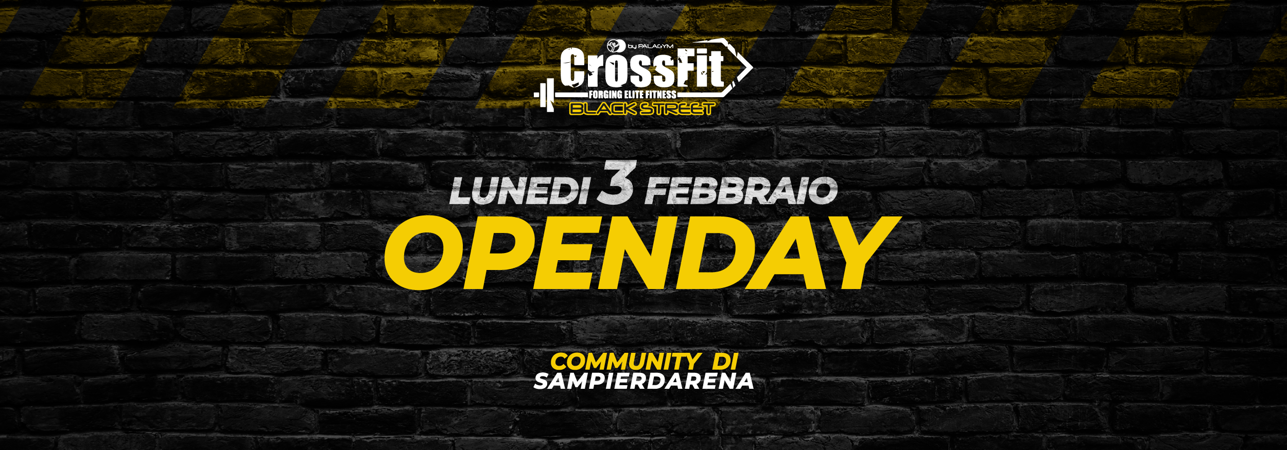 open day cross fit black street header sito