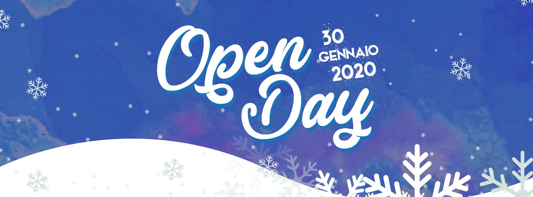 open day 30 gennaio 2020